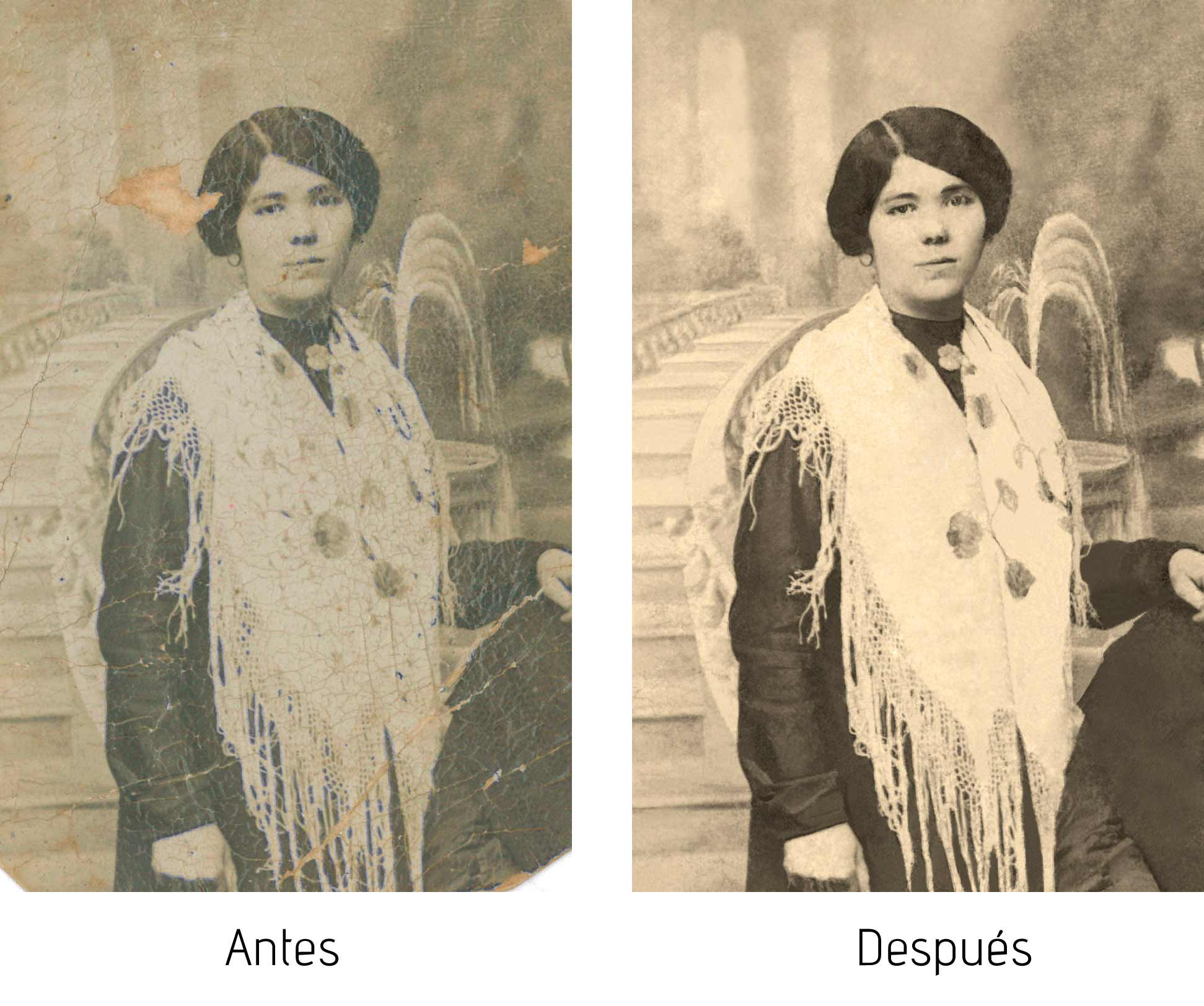 Restauración de fotos